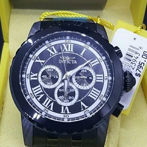 Weekend Sale,1 IN STOCK, NEW Invicta black watch